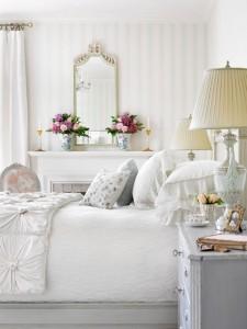 White Bedroom Design Traditional