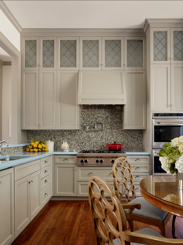 Benjamin Moore 1468 Willow Creek Kitchen - Interiors By Color