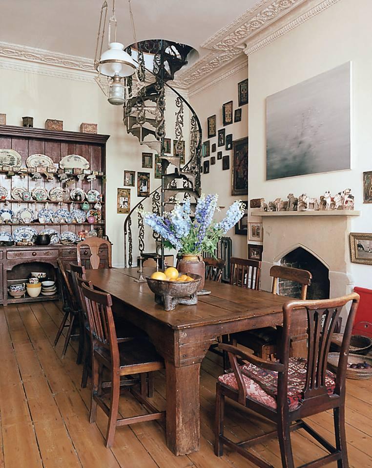 vinatge gothic dining