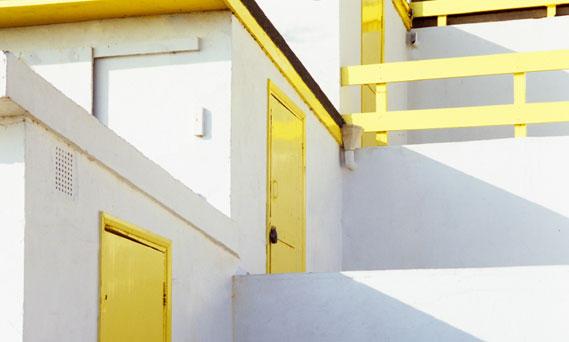 White Walls and Yellow Doors
