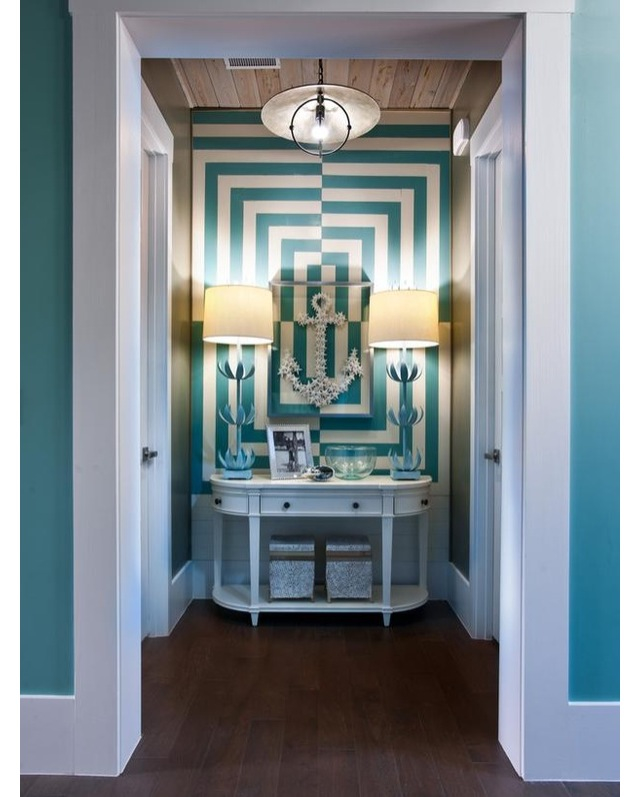Alcove in Turquoise
