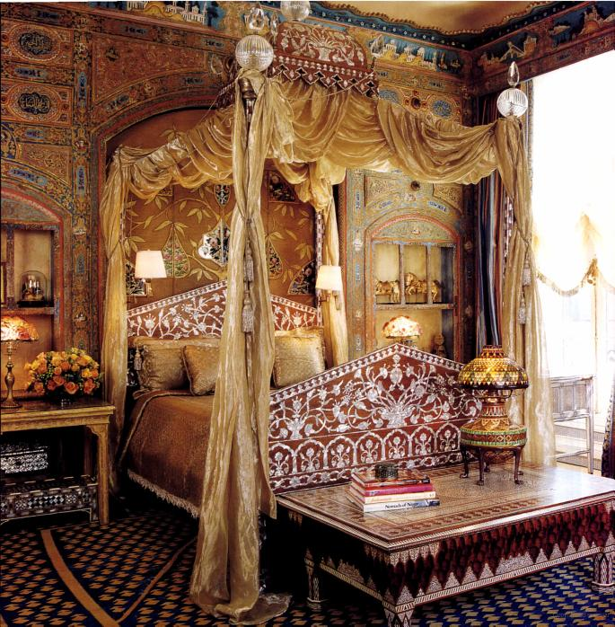 Ann Getty S Turkish Bedroom Interiors By Color