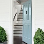 Benjamin Moore Breath of Fresh Air 806 Door