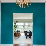 Galapagos Turquoise Walls and Ikat Rug