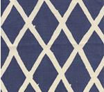 Lyford Diamond Blotch 6720-02 Navy on Tint