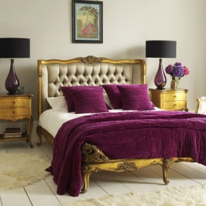 Purple Plum and Gold