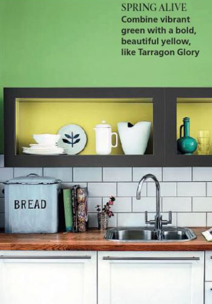 green-and-yellow-paint-kitchen