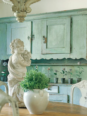 Mint French Vignette