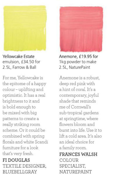 Paint Palette - Bright 'N' Breezy Yellowcake