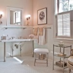Renovated Bathroom in White and Muslin