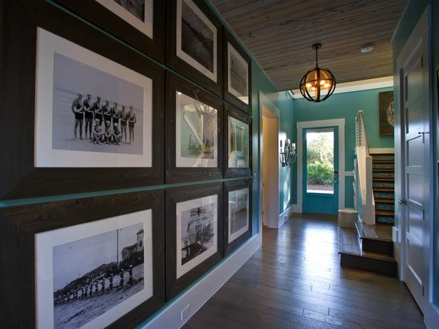 turquoise foyer hall