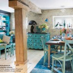 Industrial and Antique Turquoise Themed Living