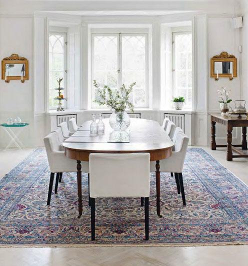 white-dining-room
