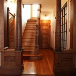 Wooden Victorian Staircase