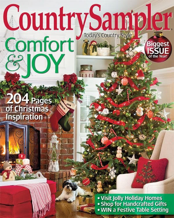 Country Sampler Christmas Decorating