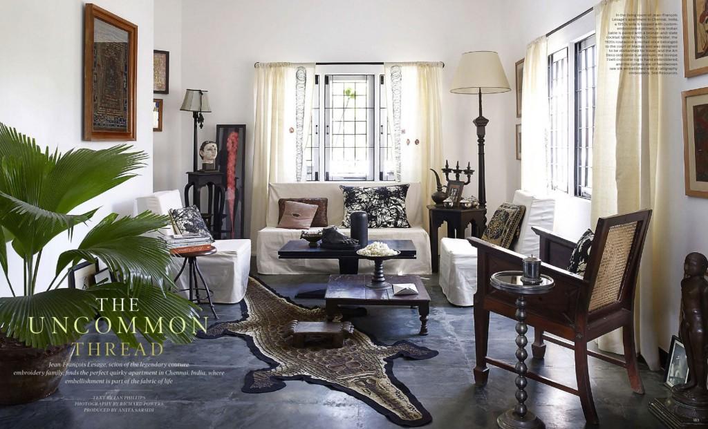 The Uncommon Thread - Jean François Lesage's Apartment