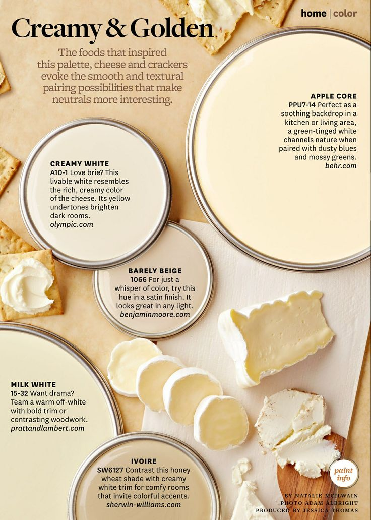 Paint Palette Creamy And Golden Interiors By Color