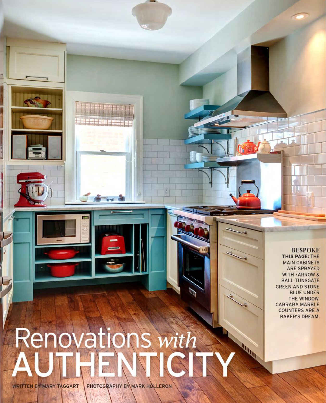 Beautiful Red And Teal Kitchen Images Gallery >> Retro Renovation ...