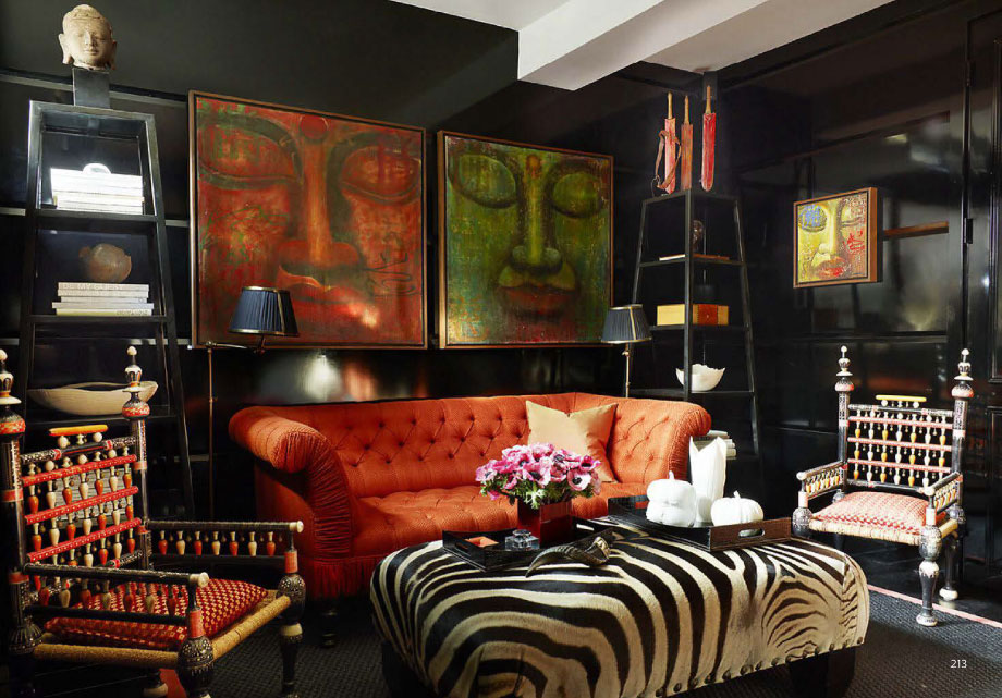 Zebra Stripe Interiors By Color 21 Interior Decorating