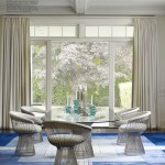 Contemporary Blue Dining