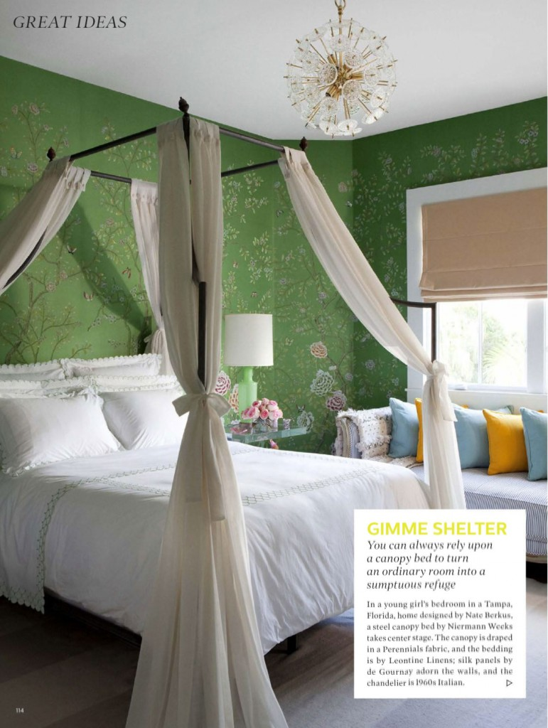 Sumptuous Refuge Canopy Bed