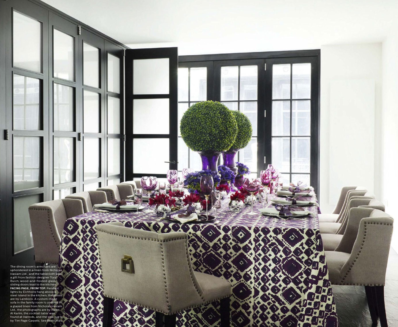 violet dining room - interiorscolor