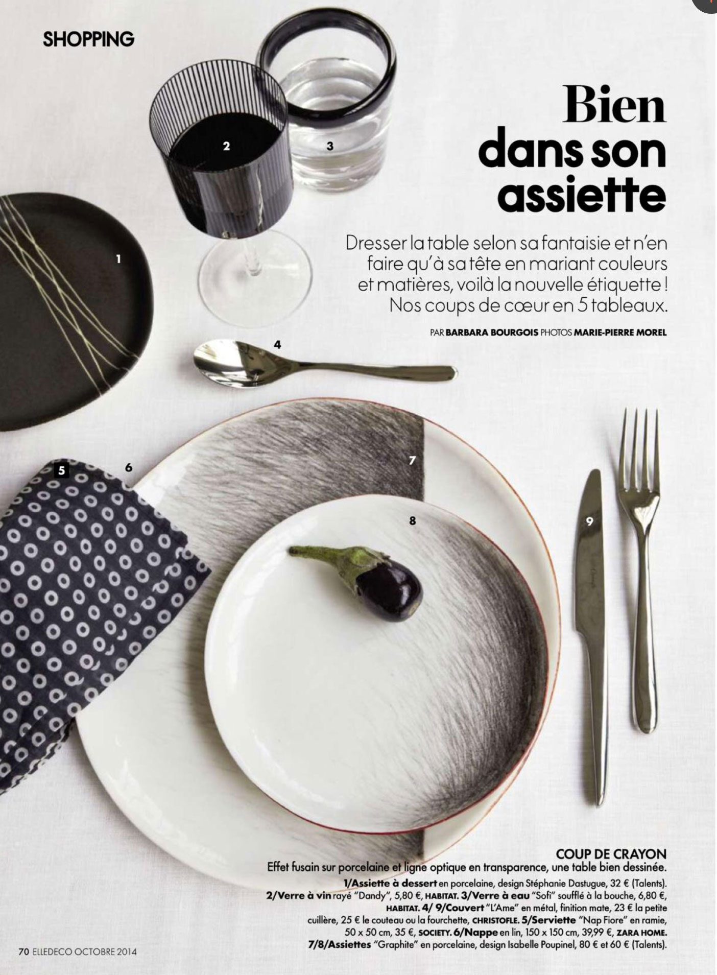 Admirable Table Settings Editorial From Elle Decoration France Home Interior And Landscaping Ologienasavecom