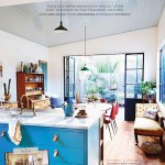 Turquoise Kitchen Federation Style Home