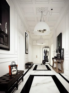 Black and White Entry by Ando Studio