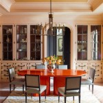 Orange and Purple Living Room by Steven Gambrel