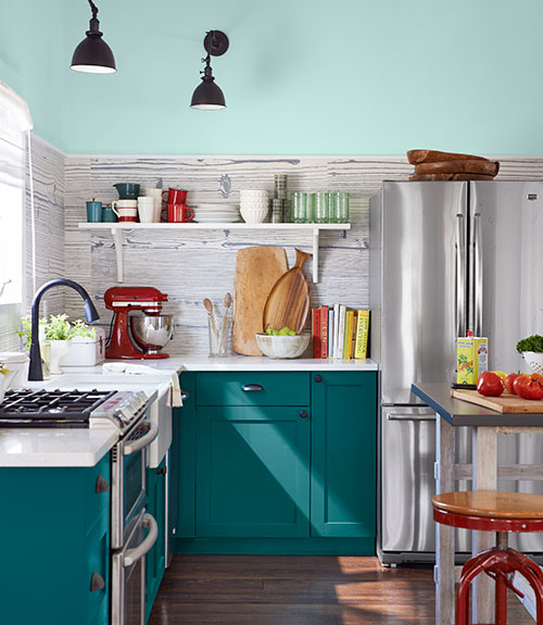 Breezy Point House Tour Teal Interiors By Color