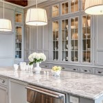 Traditional Kitchen in Soft Gray