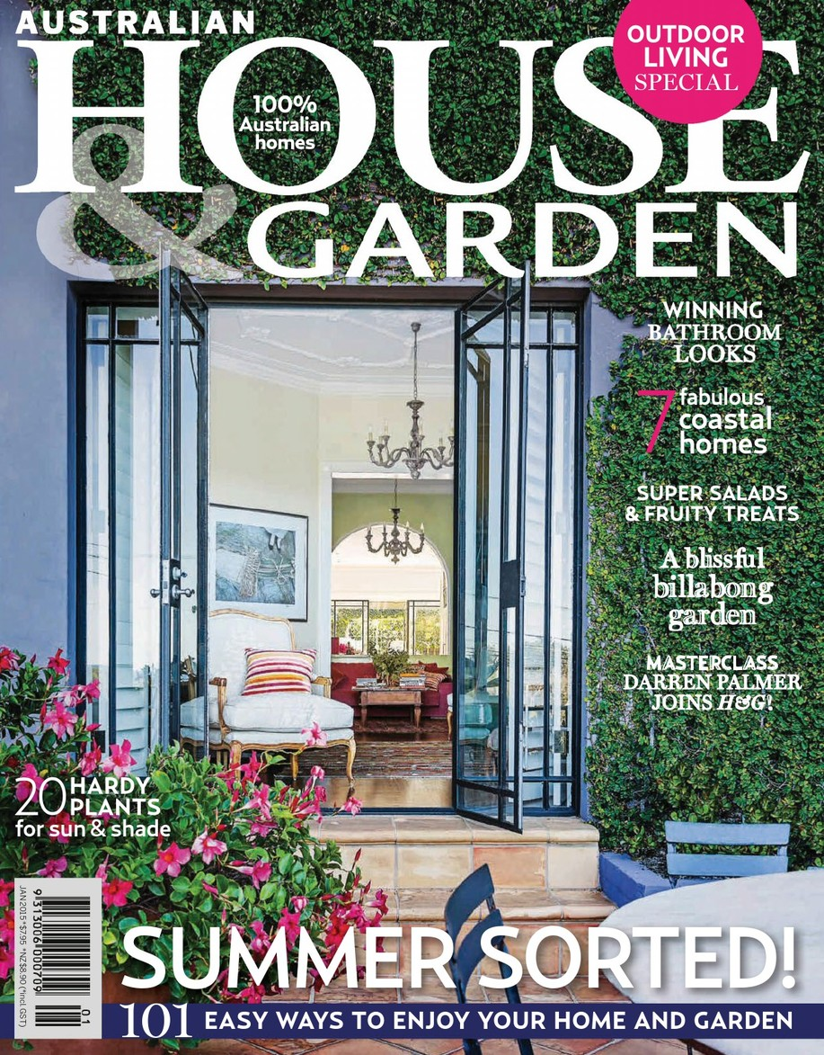 Australian House & Garden - January 2015 cover