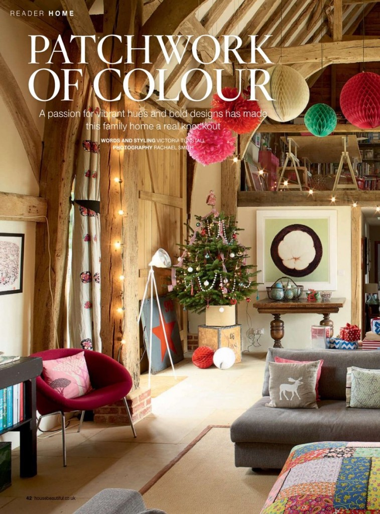 Patchwork of Colour - Family Home