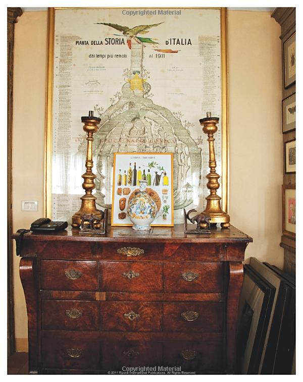 Antique Bohemian Foyer