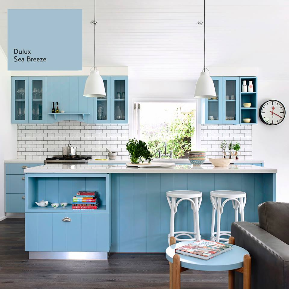 Blue Summer Paints Interiors By Color