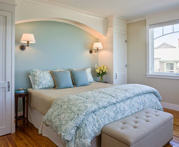 Benjamin Moore S Palladian Blue Bedroom And Bathroom