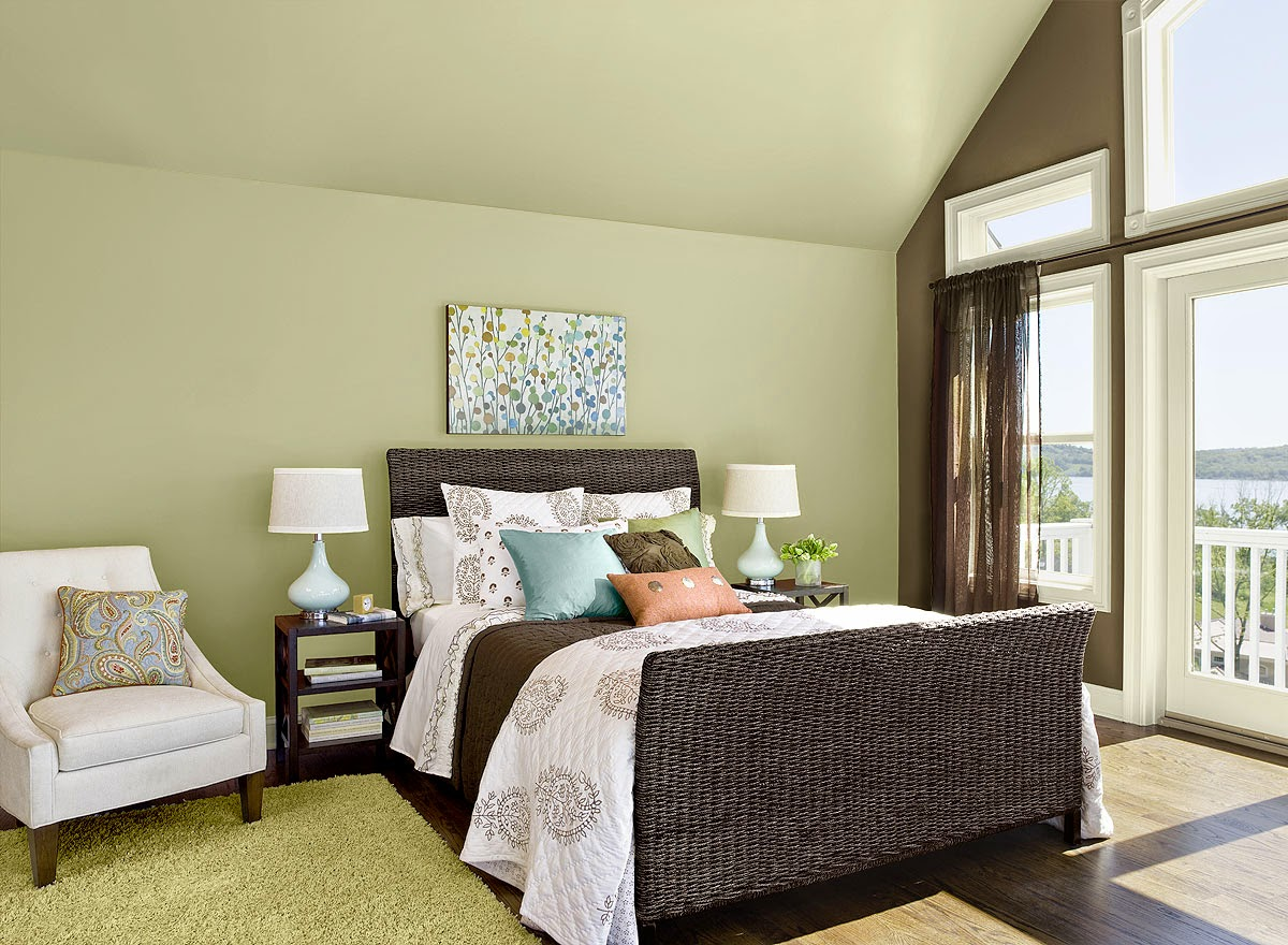 Guilford green bedroom walls interiors by color for Bedroom colors