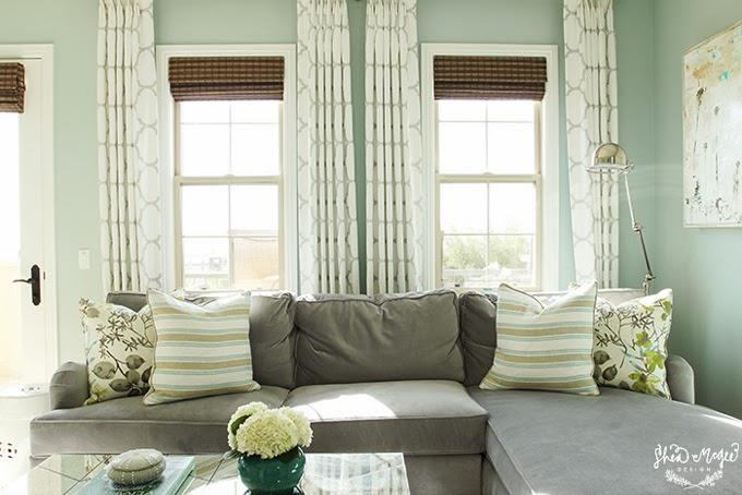 Palladian Blue Master Bedroom - Interiors By Color