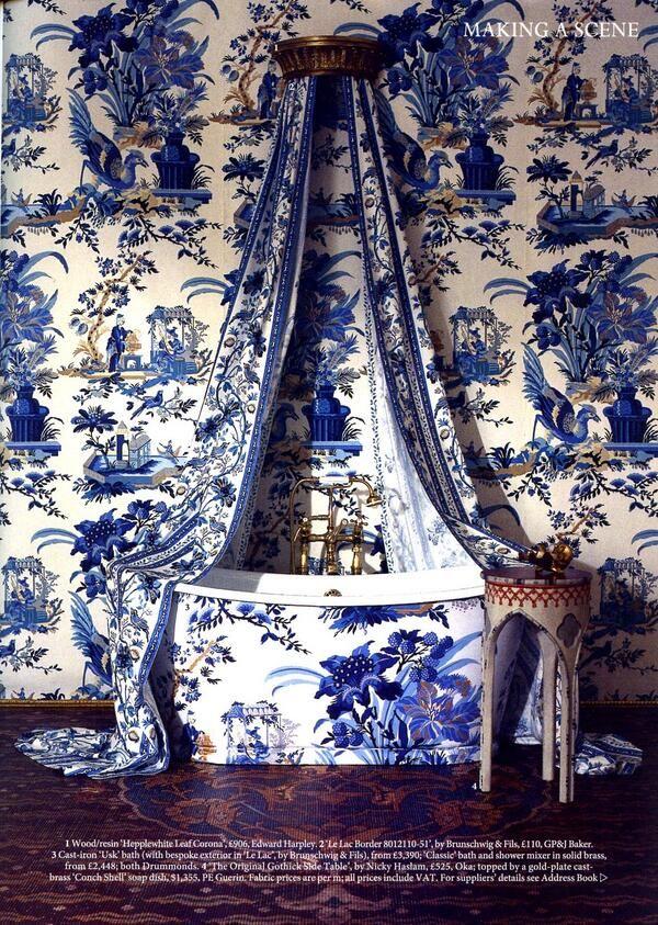 Elysian blue & White Interiors