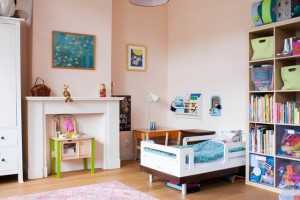 Sherwin Williams Charming Pink And Turquoise Interiors