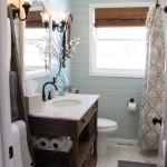 Pale Blue Guest Bathroom