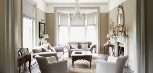 Elegant Neutral Living Space