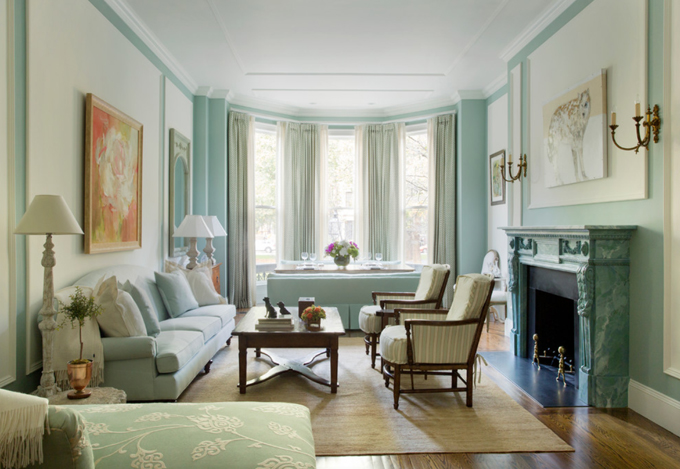 palladian blue living room pale blue living room in a boston brownstone interiors 12847
