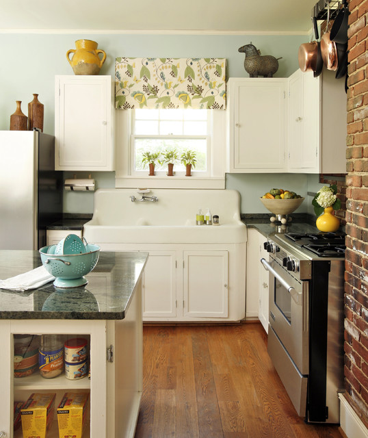 Country Kitchen Wall Colors: Kitchen Palladian Blue Country