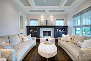 Traditional Neutral Living Room Interiors By Color