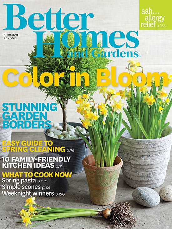 Better Homes And Gardens April 2014 Cover