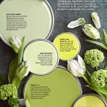 Better Homes and Gardens April 2014 Paint Palette