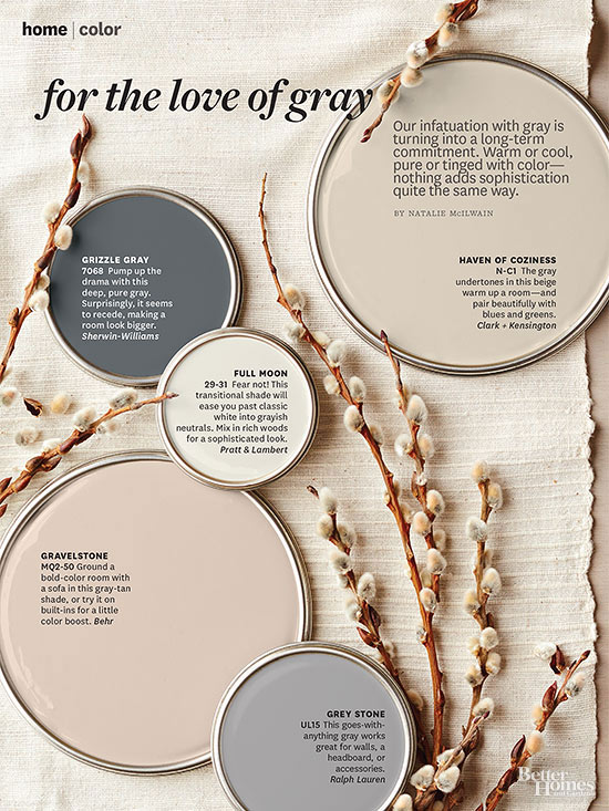 Better Homes And Gardens March 2014 Paint Palette