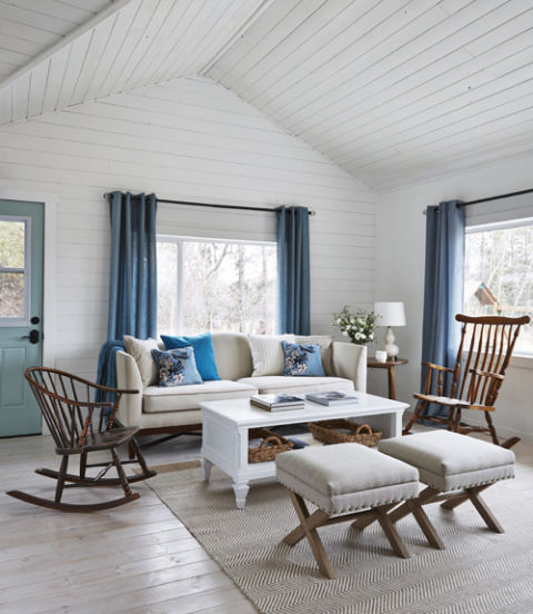 White French Country Bedroom